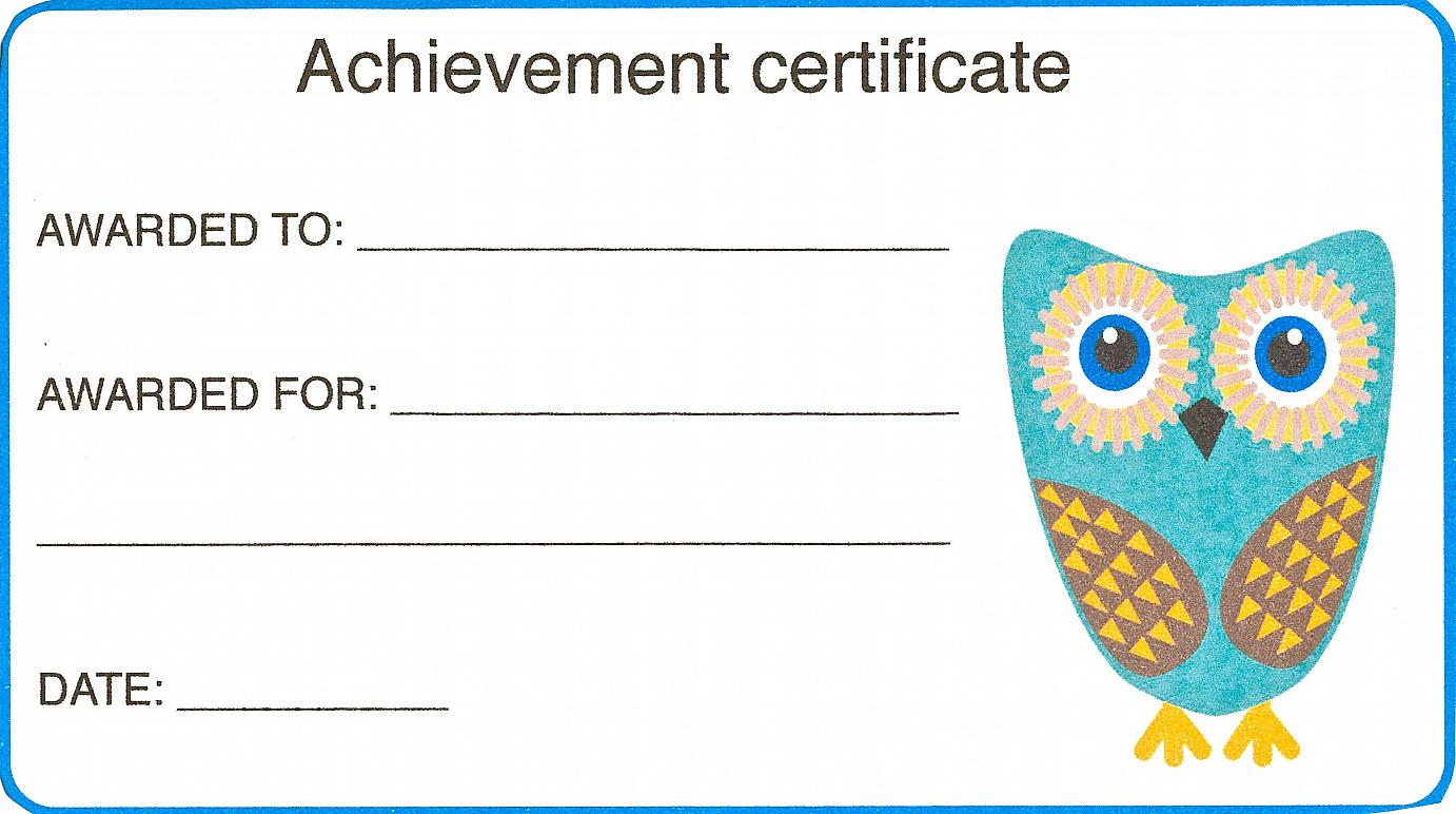 Certificate for Kid Template